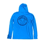 WHITE'S TACKLE TARPON LOGO - L/S TRIBLEND HOODED