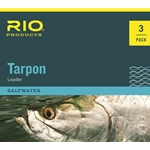 RIO 3 PACK TARPON LEADER - 6FT