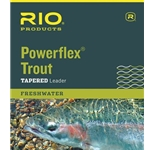 RIO POWERFLEX TROUT LEADER - 9FT 6X