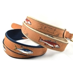 ZEP-PRO EMBROIDERED LEATHER BELT