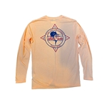 WHITE'S TACKLE MARLIN COMPASS - L/S BLENDED SHIRT