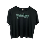 WHITE'S TACKLE LADIES' CROPPED TOP - MINT HOOK